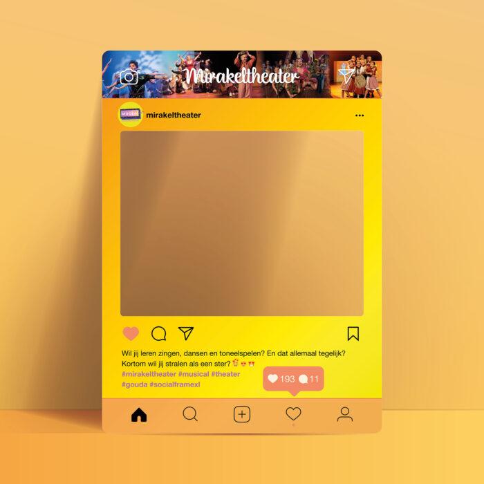 Instagram frame kopen - maatwerk