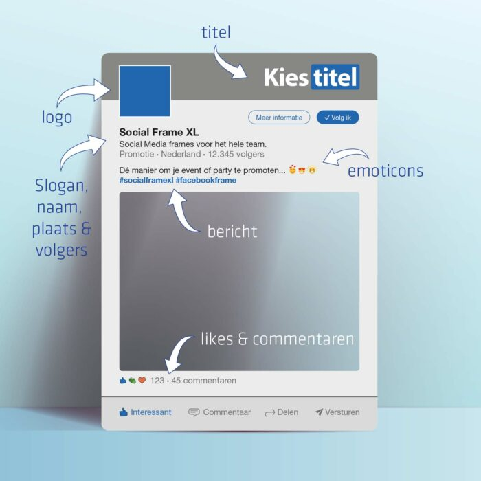 LinkedIn frame