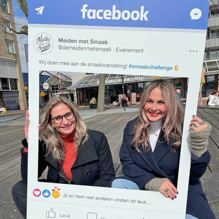 Facebook frame