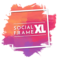 Social Frame XL Logo