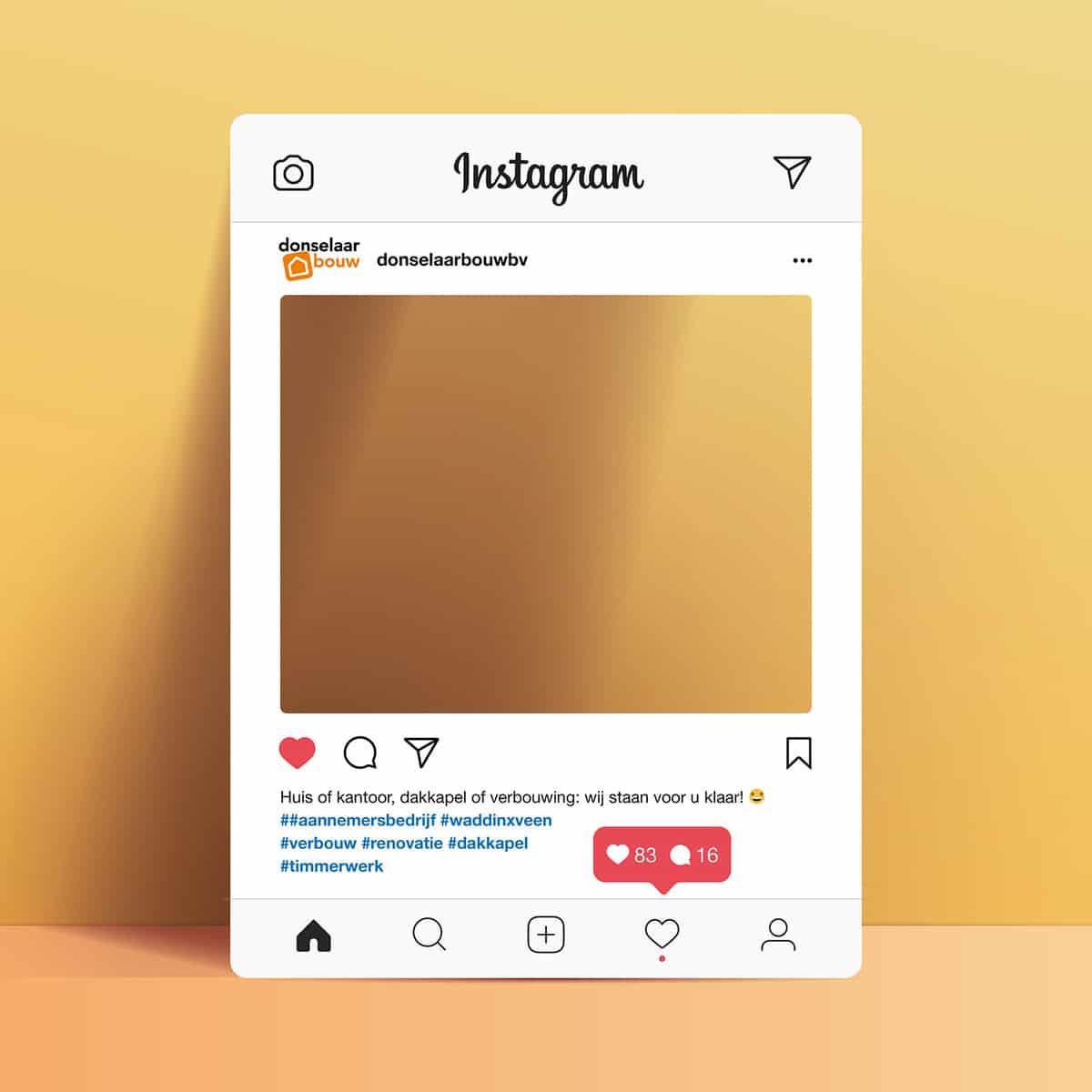 Instagram bord